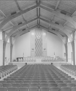 Chafer Chapel Interior. Click for enlarged image.