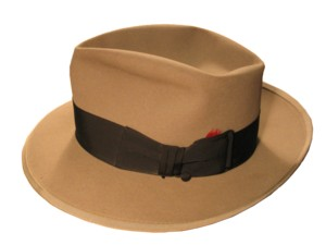 Chafer's Hat. Click for enlarged image.