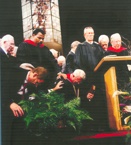 Inauguration of Dr. Charles R. Swindoll. Click for enlarged image.