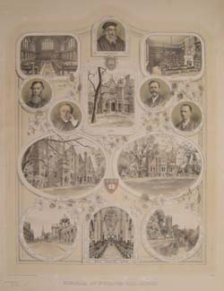 Wycliffe Hall Memorial Poster. Click for enlarged image.