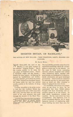 Article Written by Alice Monk, later Mrs. Griffith Thomas. Click for enlarged image.