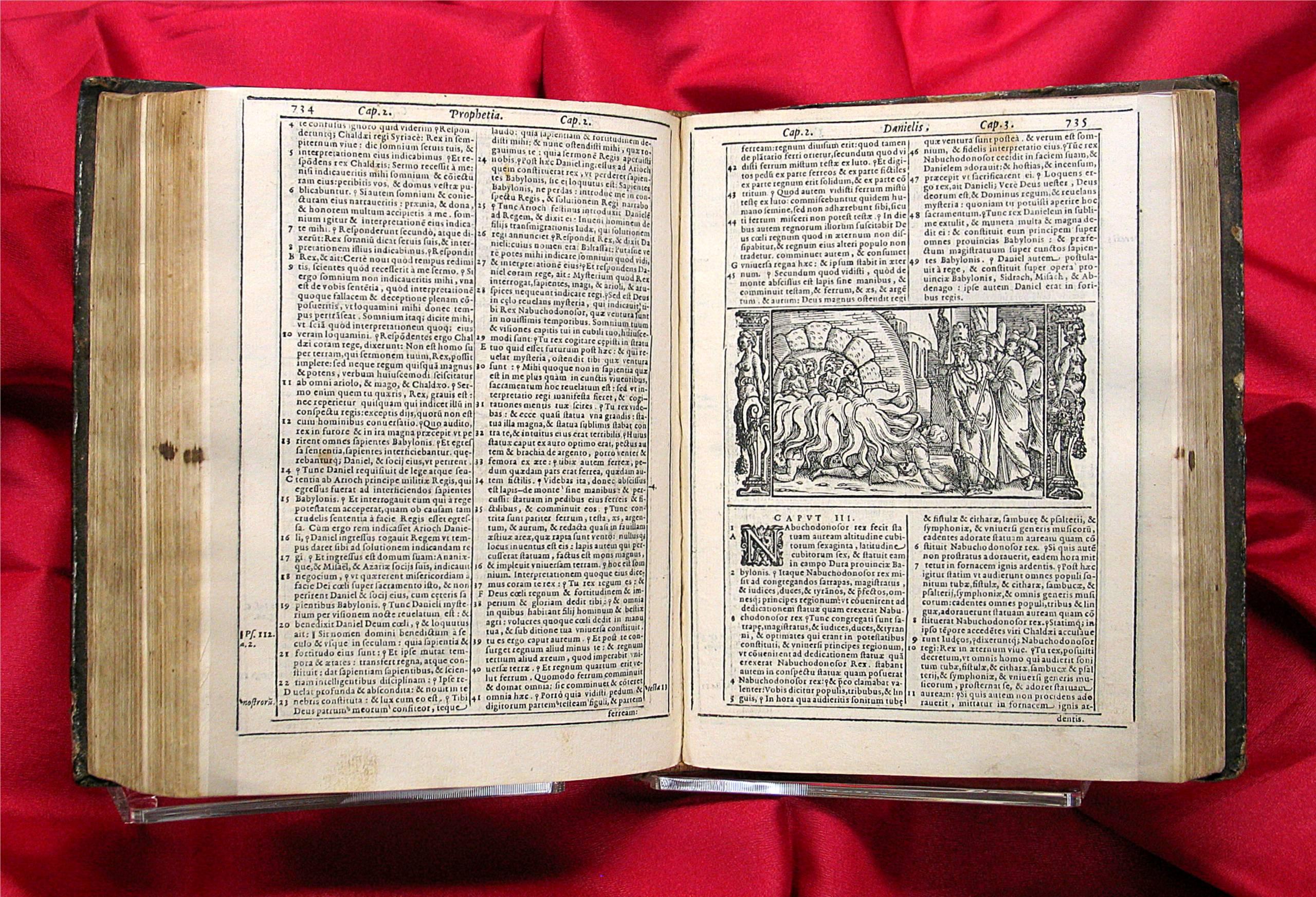 Sainte Bible traduite du latin vulgate