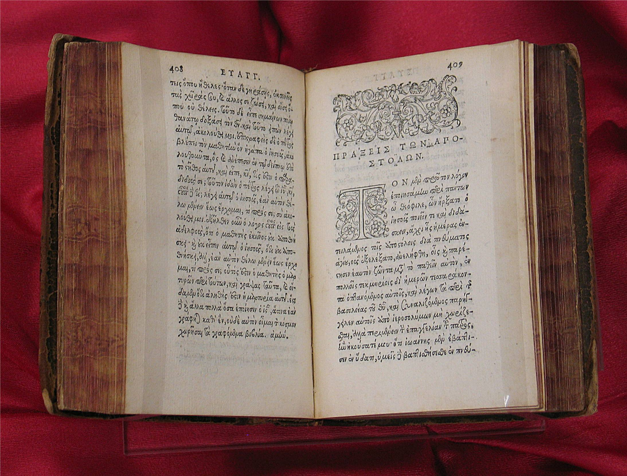 Some Rare Bibles from Special Collections